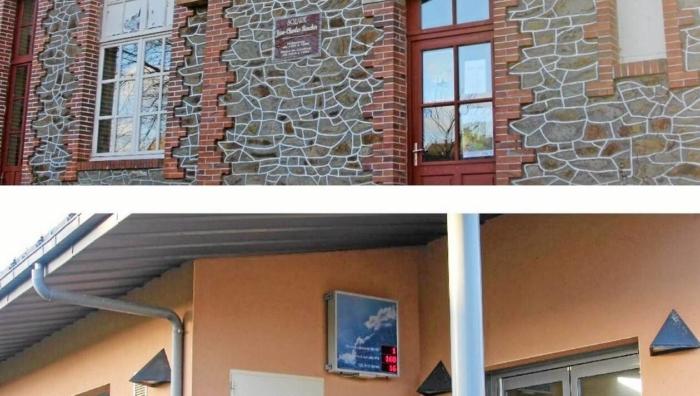 Bibliothèque et restaurant scolaire : deux des bâtiments concernés.